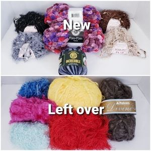 #746🥰Bundle 3/Lowest FREE *Lot of Yarn *some NWT